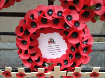 Residents visit Menin Gate and pay tribute to borough's fallen