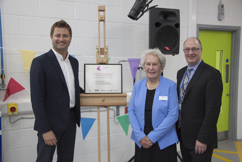 George Clarke formally opens £10m Carshalton TEC Centre