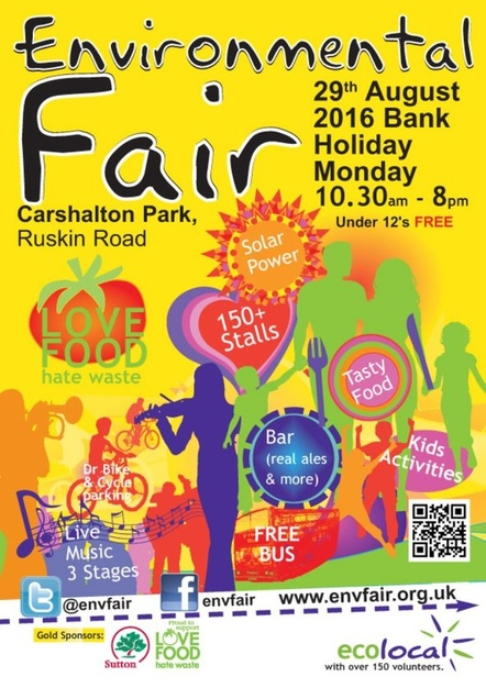 Get ready for borough's Environmental Fair this Bank Holiday