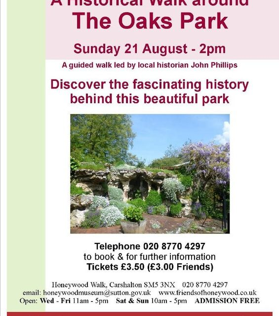 Learn the history of Oaks Park
