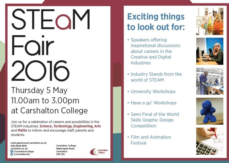 Carshalton College developing a great head of STEAM in May