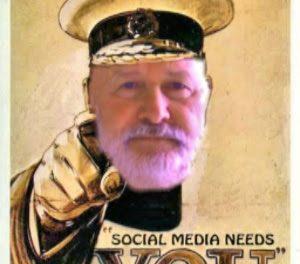 """Alan's volunteer appeal to help spread the """"social media"""" word"""