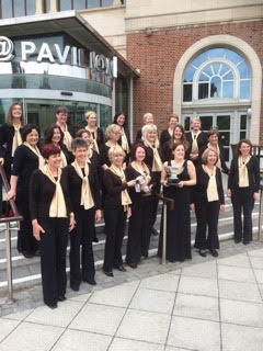 Sutton's Impromptu choir wins top award at music festival