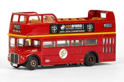 Strictly limited edition model bus commissioned by Sutton United