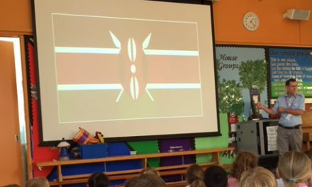 Cuddington pupils given insight into eight years in Kenya