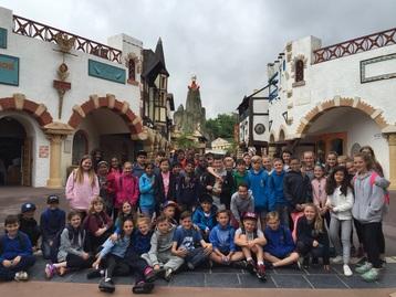 Year six Cuddington pupils love Paris in four day visit