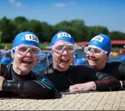 Eton open water swim – a great way to raise funds for hospice