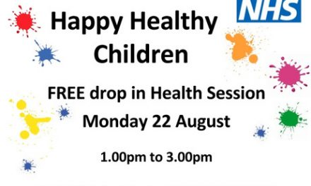 Free sessions to ensure we maintain Happy Healthy Children
