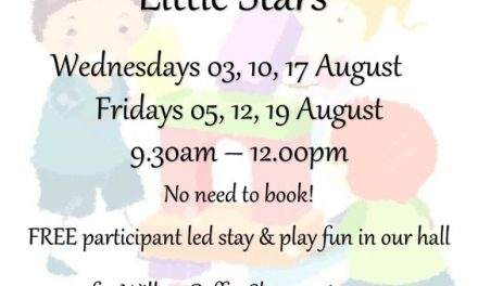 Little Stars shine in free play at Carshalton's Willow Coffee Shop