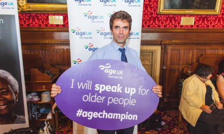 MP Tom joins debate discussing older peoples' issues