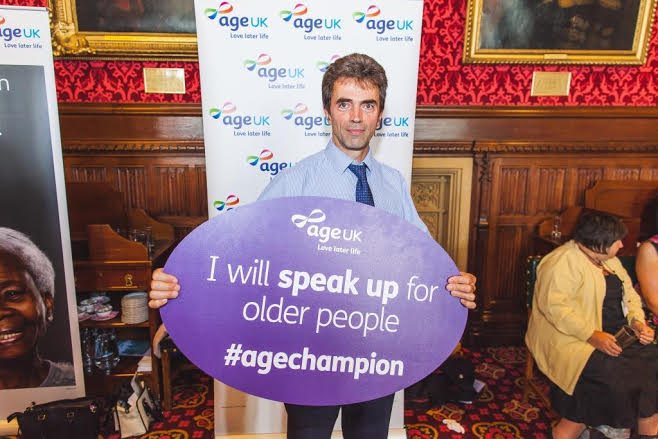 MP Tom joins debate discussing older peoples' issues