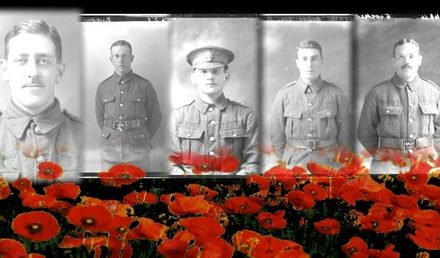 Images of WW1 soldiers to be projected on to St Helier Hospital