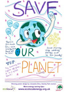 Stanley Park junior student wins conservation poster competition