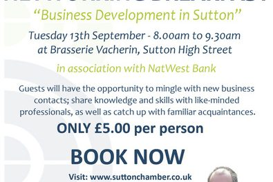 MP Paul Scully to be speaker at business breakfast in September