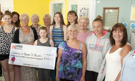 Surrey Grove raises nearly £1,500 for St Helier ward
