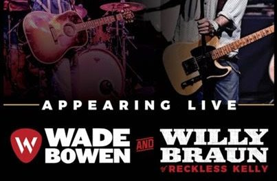 Exclusive UK tour for Wade Bowen and Willy Braun in November