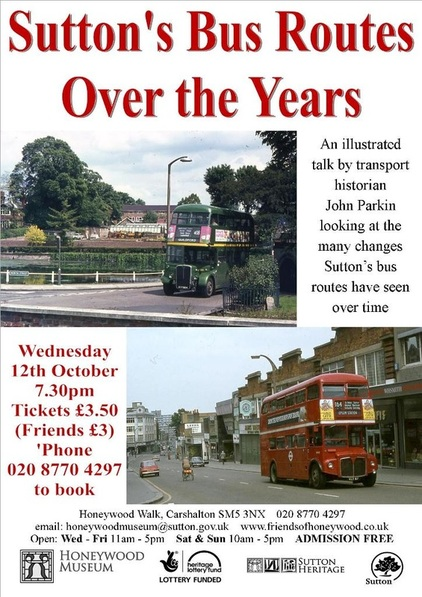 Transport talk will cover the borough's bus routes over the years