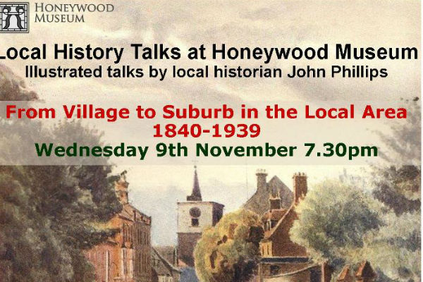 Two great talks charting history of Carshalton
