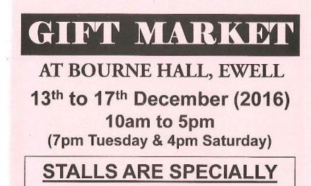 Bourne Hall gift market dates