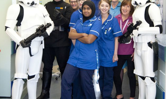 Stormtroopers emphasise that play matters at Queen Mary's