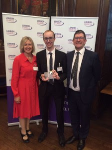 Ryan is selected as the capital's Apprentice of the Year