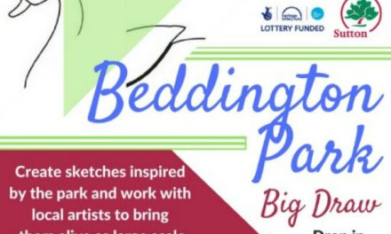 Beddington Park Big Draw gives a chance for local artists