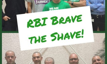 Head shaved to grade zero to raise money for MacMillan Cancer
