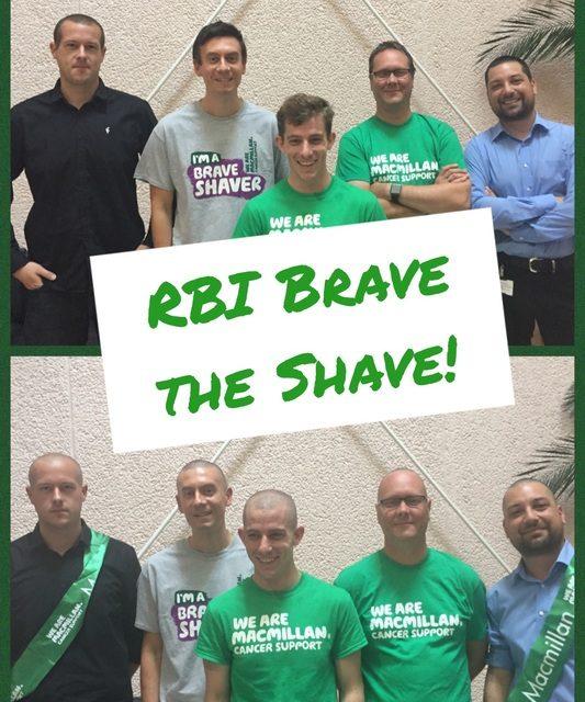 Head shaved to grade zero to raise money for MacMillan Cancer