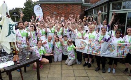 Amazing £17,000 raised by walkers for Marsden Cancer charity