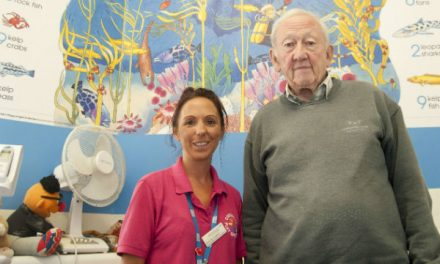 Distraction pictures to help young patients at Queen Mary's