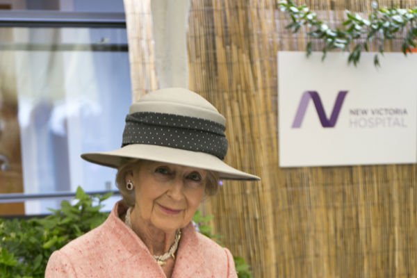 Princess opens new hospital wing