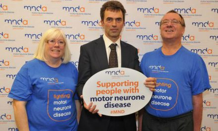 "MP Tom says MND reception is ""inspiring"""