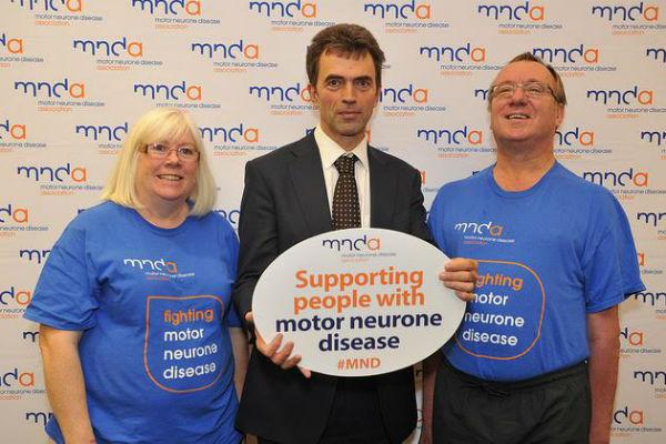 "MP Tom says MND reception is ""inspiring"""