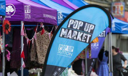 Pop up market established to support new business