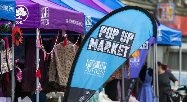 Pop up market established to support new business