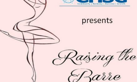 "Carshalton High School for Girls students perform by ""Raising the Barre"""