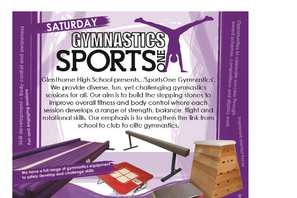 Jump to it – get along to SportsOne gymnatics