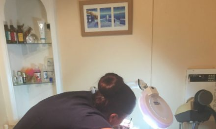 Beauty therapists work experience in Wallington salon