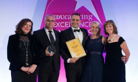 Greenshaw Learning Trust head of catering wins top award