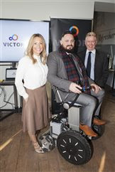 New affordable wheelchair that allows users to seee eye to eye needs £600k