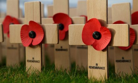 Preparation for remembrance set out in school assemblies