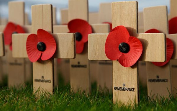 Orchard Hill students play their part in Poppy Day remembrance