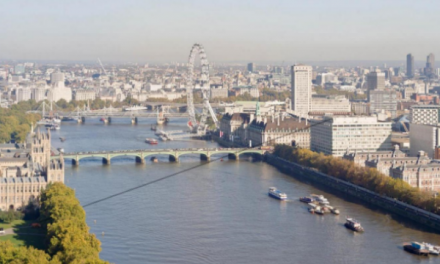 Unique opportunity to zip wire across the Thames and raise money for charity