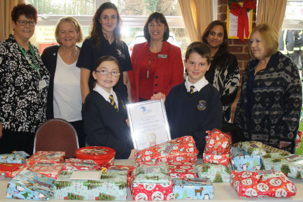SHP, schools and councillors help to support residents in need