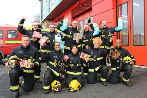 Fire crews team up with Co-op to offer Christmas Day meal
