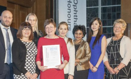 National award for hospital team