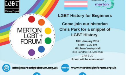 LGBT history for beginners – is next talk for forum