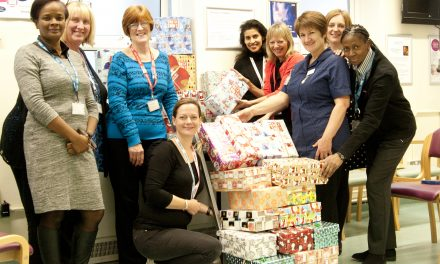Hospital midwife takes part in national campaign to help children