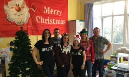 Festive look for Queen Mary's Hospital for Children