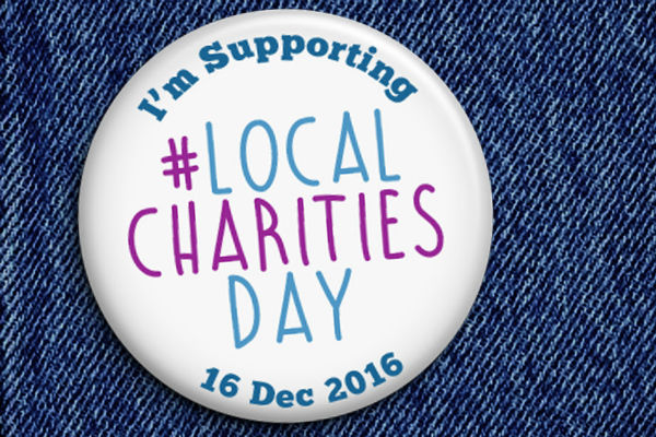 Friday is local charities day – help celebrate great groups